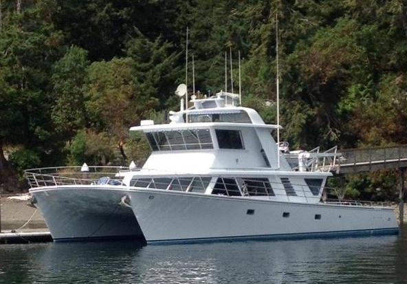 Power catamaran world for Catamaran fishing boats for sale